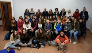 Visita estudiats estrangers a l'Ajuntament de Calaf en el marc del programa Erasmus+
