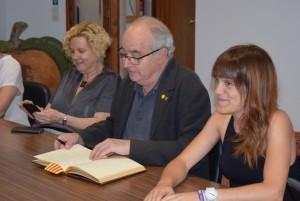 visita 5 de juliol 2019 Josep Bargalló a Calaf