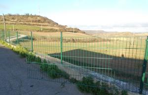 Desperfectes a la valla del cementiri