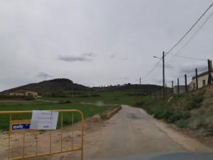 Zona afectada segona fase obres camí del Pou