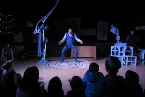 El clown JAM l'últim dia de 'L'Iglú de Calaf'
