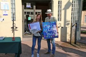 1r premi concurs de cartells FM Calaf - Ana Belen Naranjo