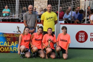 guanyadores categoria femenina - INSDA