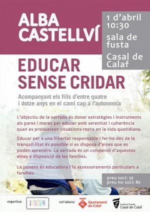 Xerrada a càrrec d'Alba Castellví