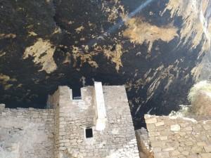 restes del poblat de la balma de la Vansa