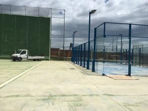 equipaments esportius pàdel i tenis Calaf