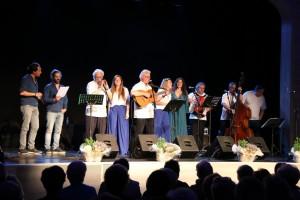 foto de grup cantant l'havanera de Calaf
