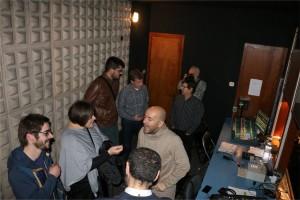 Xavier Castellana visitant les instal·lacions del Casal de Calaf