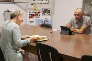 Visita de la delegada de la Generalitat a la Catalunya Central