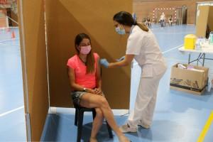 Marató de vacunació a Calaf