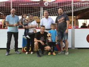 Isidre Marsiñach guanyador del trofeu Jordi Borràs al millor jugador de la final.