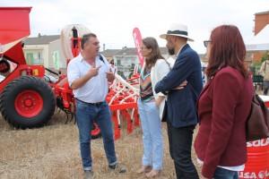 Inauguració Agro Alta Segarra 2017 amb la consellera d'Agricultura, Ramaderia, Pesca i Alimentació, Meritxell Serret.
