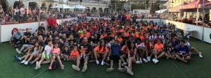 Participants del 3x3 de futbol 2017