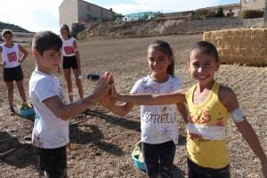 Els petits van gaudir de la cursa de Lokus infantil