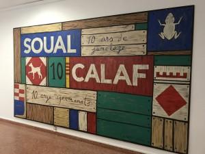 Mural agermanament Calaf-Soual