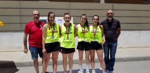 guanyadores categoria cadet femení