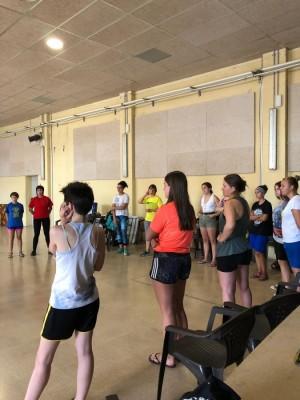Taller d'autodefensa - Estiu Jove Calaf 2019
