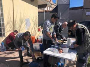 Dinar popular voluntaris - 8 de març Calaf