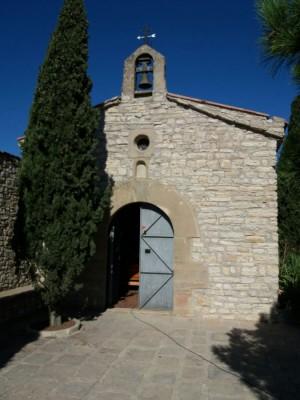 L'ermita de Sant Sebastià va ser un dels llocs que es van poder visitar