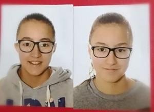 Amira i Nirmin, jugadores de l'EFSAS seleccionades per la Selecció Catalana de Futbol