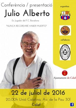 Conferència Julio Alberto-Barça