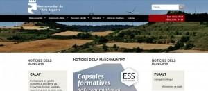 portada web Mancomunitat Alta Segarra