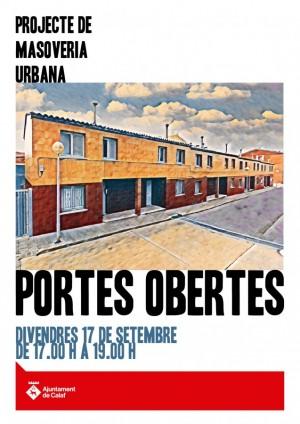 Jornada de portes obertes - Masoveria urbana