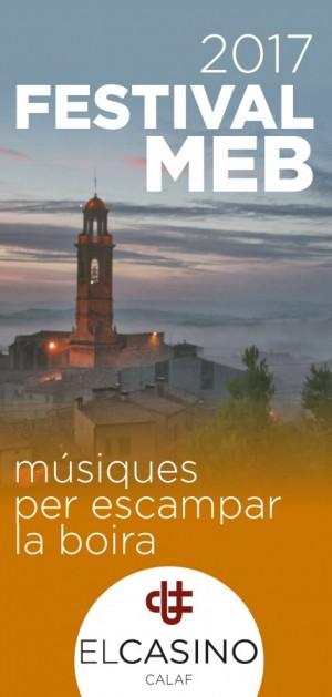 Segon trimestre 2017 del Festival MEB