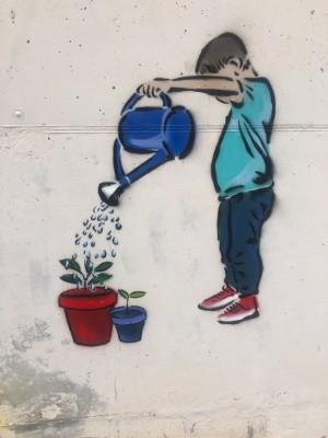 Mural col·laboratiu