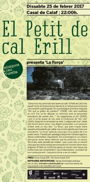 Concert: 'El petit de cal Erill'