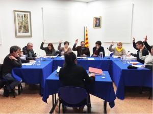 Votació aprovació pressupostos participatius Ple 20 de febrer 2018