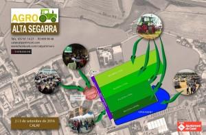 Agro Alta Segarra - plànol