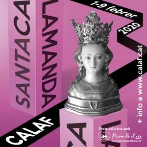 Festa Major Santa Calamanda 2020 Calaf