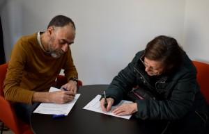 signatura conveni cessió Cal Cisteller