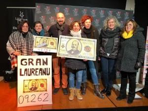 Sorteig Gran Laureanu realitzat el 5 de gener al Casal de Calaf
