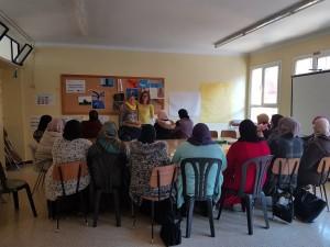 Primera sessió taller de dones Calaf 2018