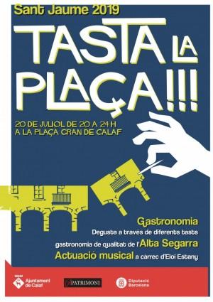 cartell Tasta la plaça 2019