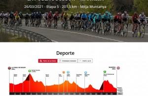 Volta ciclista Catalunya - 5a etapa pas per Calaf