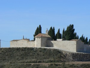 Foto arxiu. Voltants del cementiri on està previst ubicar el tanatori
