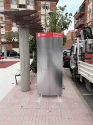 cartellera plaça Alta Segarra