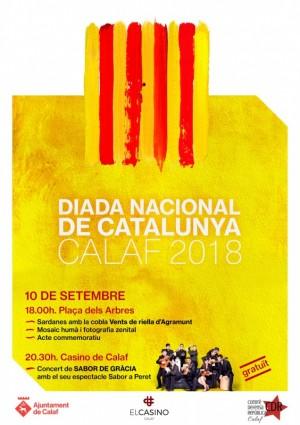 Actes Commemoratius Diada Nacional de Catalunya