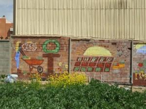 Ecomurals horts urbans