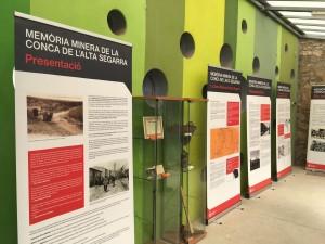 Exposició mineria Calaf