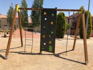 Trepa instal·lat al Parc del Firal