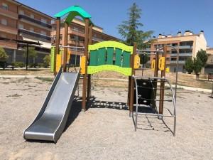Multijoc instal·lat al Parc de la Generalitat
