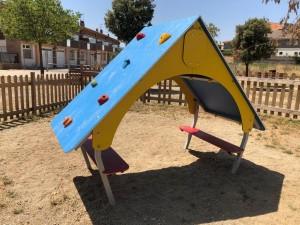 Caseta instal·lada al Parc Ramon Sala i Coy
