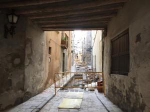obres carrer del Carme - Calaf