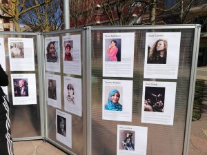 exposició dones que han fet història - 8 de març