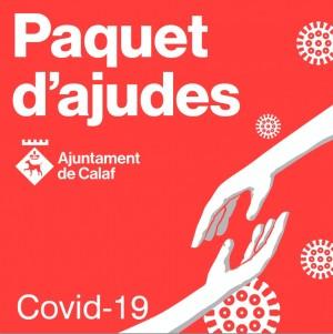 Paquet ajudes Ajuntament de Calaf Covid-19