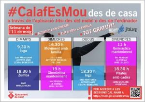Calaf es mou - setmana de l'11 al 17 de maig